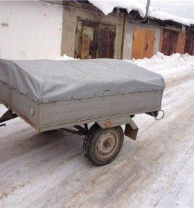 Прицеп ВАРЗ-М2 для легкового автомобиля с тентом