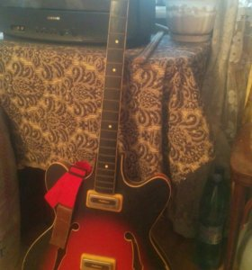 Гитара бас orfeus,без струн.   На 4 струны.