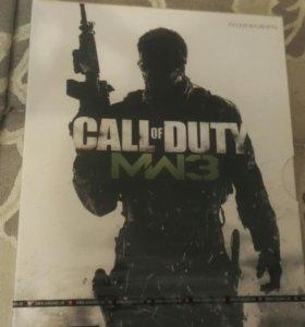 Call of duty mw3 на русском + постер