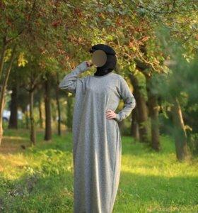 Мусульманская абая с начесом