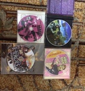 Игры (диски) для пк