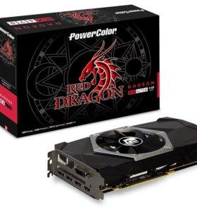 Видеокарта PowerColor Radeon RX 470 4gb Red Dragon