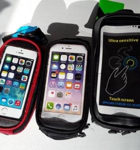 Велосумки под телефон