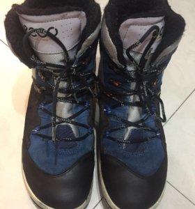 Ботинки зимние Ecco biom. Размер 40