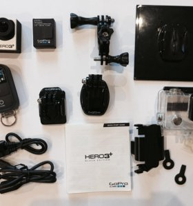 камера GoPro Hero 3+ Black Edition + 2 power bank