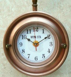 "Часы интерьерные ""медный ковш"". N 15"