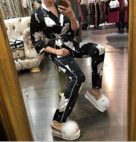 Новый костюм (пижамный стиль)