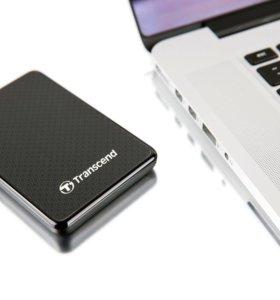 Продам внешний SSD Transcend ESD400 128gb
