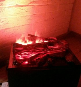 Очаг с имитацией огня и звуковым сопровождением
