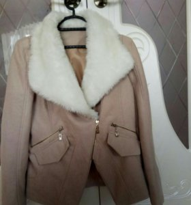 Куртка, тонкий драп