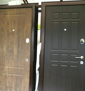 Новая металлическая дверь
