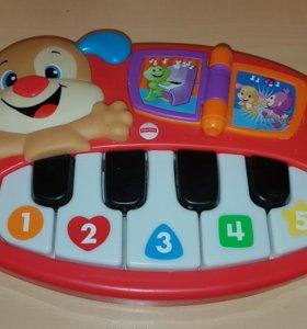 пианино fisher price +подарок