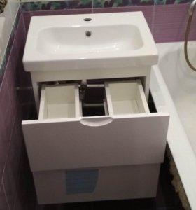 Тумба с раковиной в ванную.