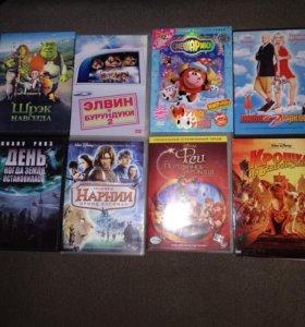15 DVD дисков за 200 рублей диски фильмы