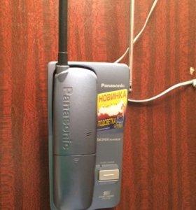 Радиотелефон Panasonic KX-TC1205RUB