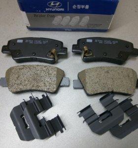 Тормозные колодки задние на Hyundai i-40