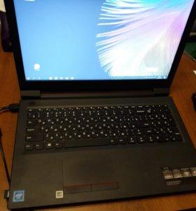 Ноутбук Lenovo V110-15IAP черный