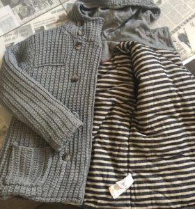 Куртка Zara на мальчика 11-12 лет