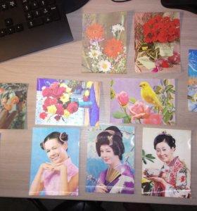 Японские 3D открытки
