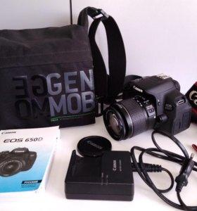 Canon 650D kit сенсорный экран