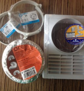 Воздуховод + вентиляция
