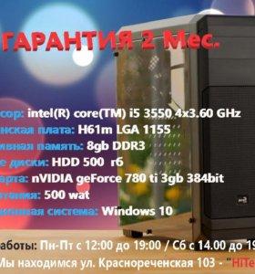 Игровой компик на GTX 780ti 3gb 348bit