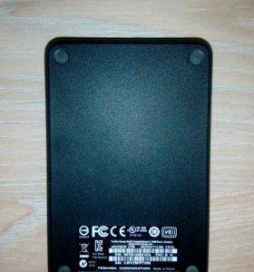 Внешний жесткий диск TOSHIBA на 2TB