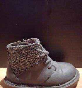 Детские осенние ботинки zara