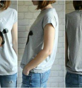 ❤Недорогая футболка с рисунком.❤