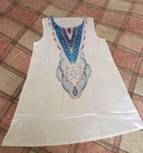 Новое домашнее платье-туника