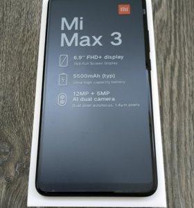 Xiaomi Mi Max 3 4-64Гб черный, глобальная версия