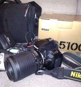 Nikon D5100 + 55-200mm VR объектив