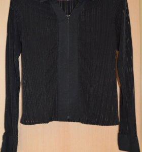 блузка черная, размер 44