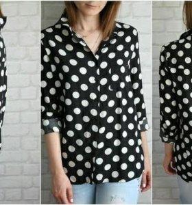 ❤ Блузка в горошек фирмы New Look.❤