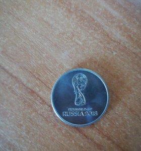 Монета fifa world cup RUSSIA 2018