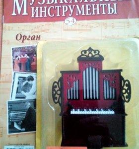 Музыкальные инструменты в миниатюре