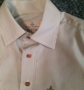 Vivienne Westwood Мужская рубашка короткий рукав