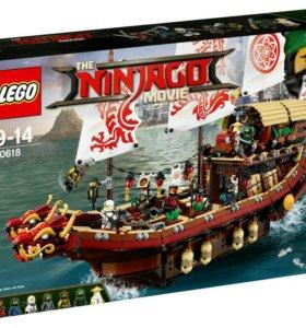 Lego Ninjago Корабль