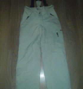 Зимние болоньевые штаны