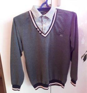 Рубашка-обманка. Р.164