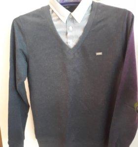 Рубашка-обманка. Р.152