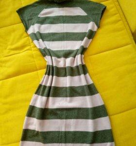 платье-туника s (можно и беременным)