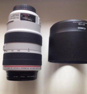 Продам объектив Canon EF 70-300mm f/4-5.6L IS USM