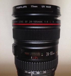 Продам объектив Canon EF 24-105mm f/4L IS II USM
