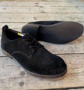 Туфли из натуральной замши Zsuo