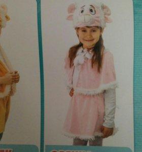 Костюм новогодний овечка