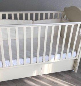 Кровать baby italia