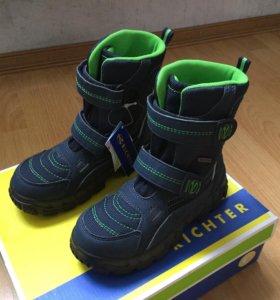 Новые зимние ботинки Richter р.28(18.5см)