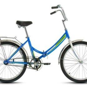 Велосипед Форвард 24д. VALENCIA 1.0 синий,красный
