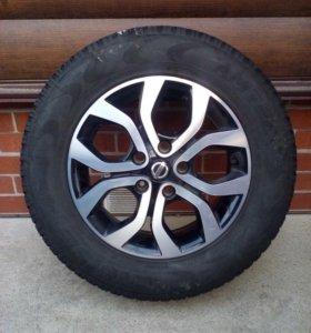 Продам летние колёса на оригинальном литье Nissan
